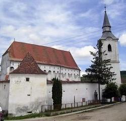{:hu}Az unitárius vártemplom{:}{:ro}Biserica unitariană fortificată{:}{:en}The Unitarian church{:}{:de}Die Unitarianische Kirche{:}