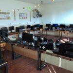 Számítógépeket kapott adományba a derzsi iskola